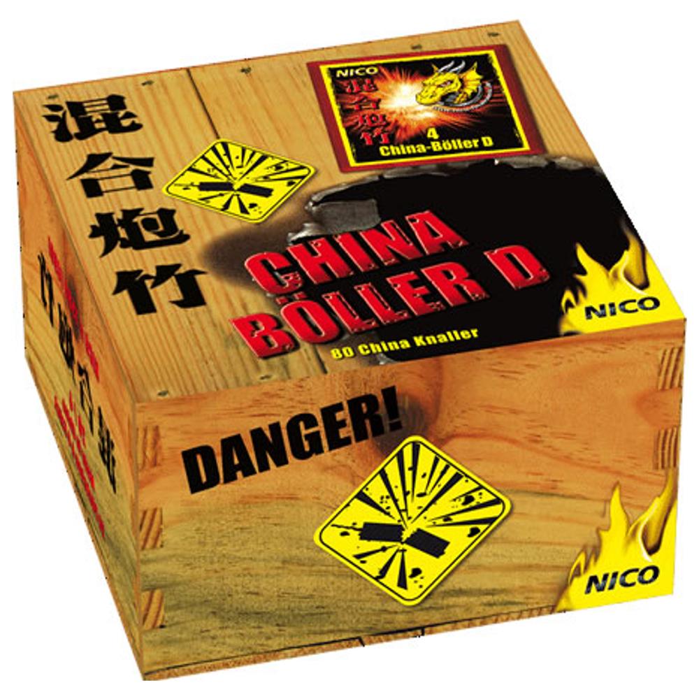 China-Böller D- Schinken
