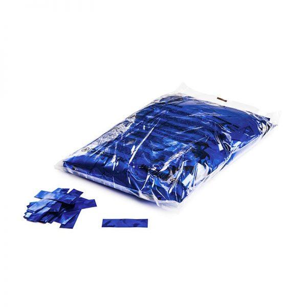 55mmx17mm Confetti Konfetti Flitter Blau