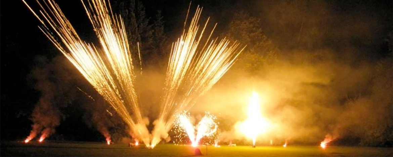 Geburtstagsfeuerwerk vom Feuerwerksladen Rhein Main
