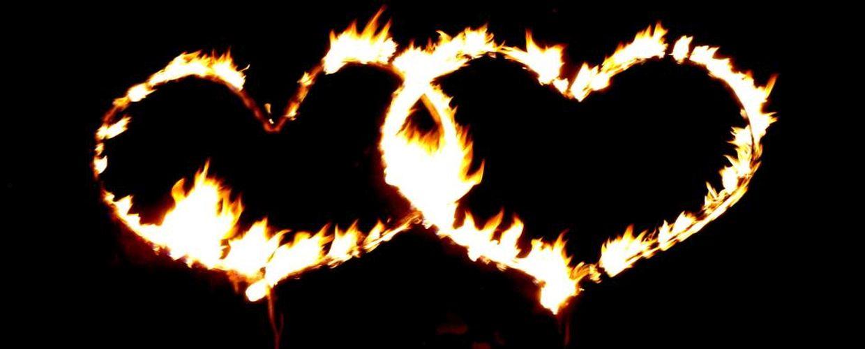 Hochzeitsfeuerwerk Frankfurt Brennende Herzen