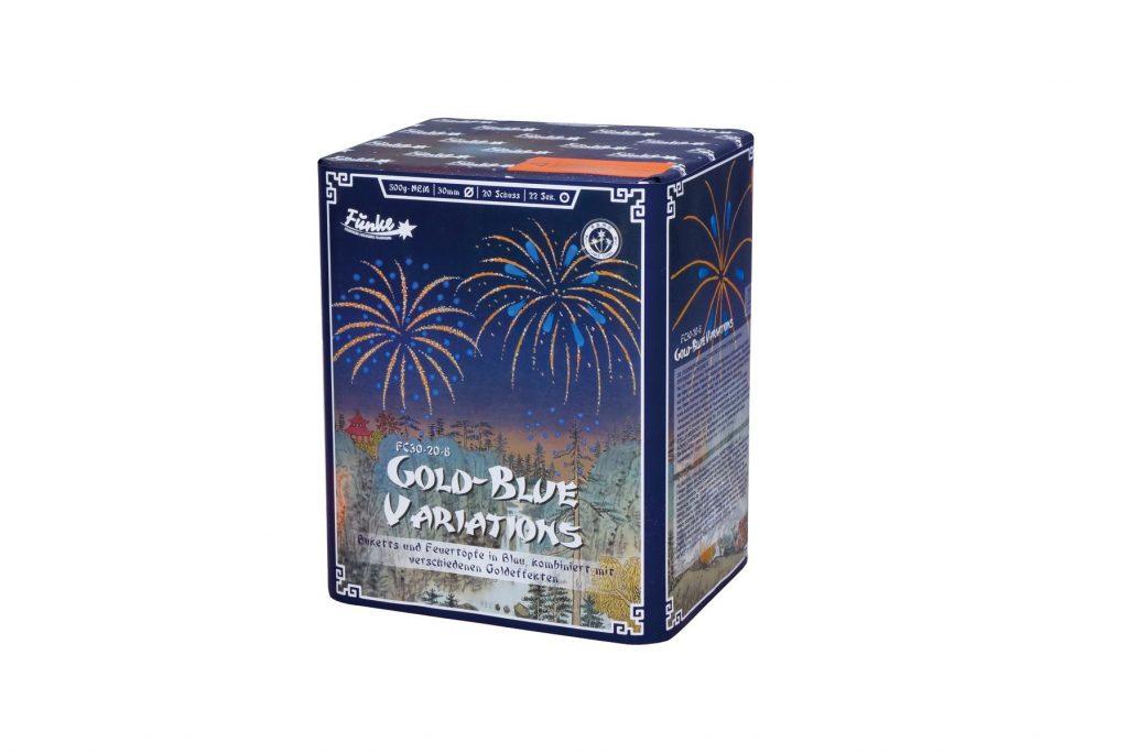 Funke Gold-Blue Variations
