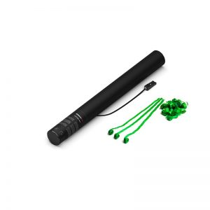 50cm Elektrische Luftschlangenkanone hellgrün