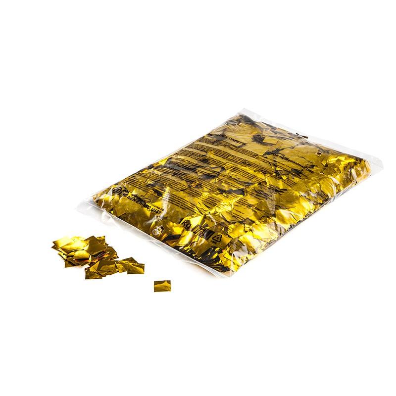 Konfetti 17x17mm Gold-Flitter