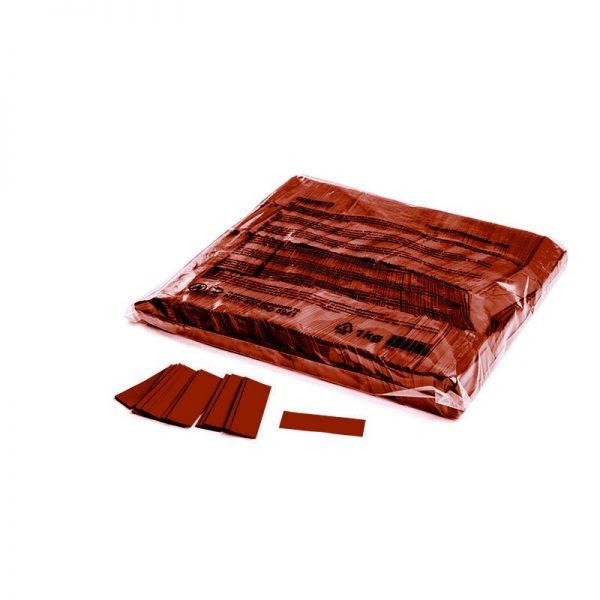 Konfetti Rectangles 55x17mm Braun