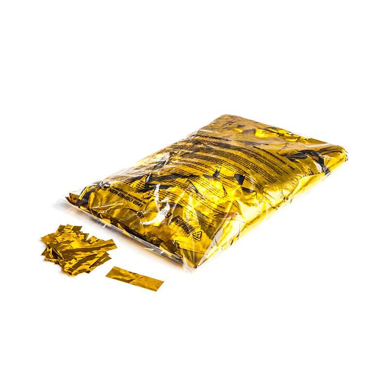 Konfetti Rectangles 55x17mm Gold-Flitter