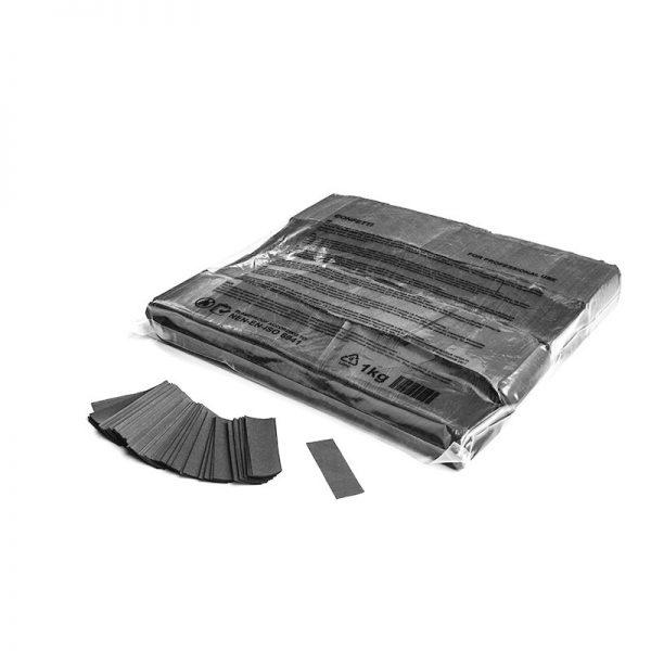 Konfetti Rectangles 55x17mm Grau