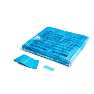 Konfetti Rectangles 55x17mm Hellblau