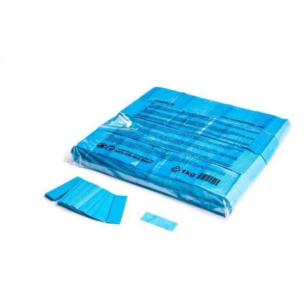 Konfetti Rectangles 55x17mm Hellblau