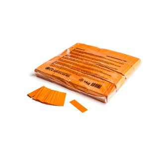 Konfetti Rectangles 55x17mm Orange