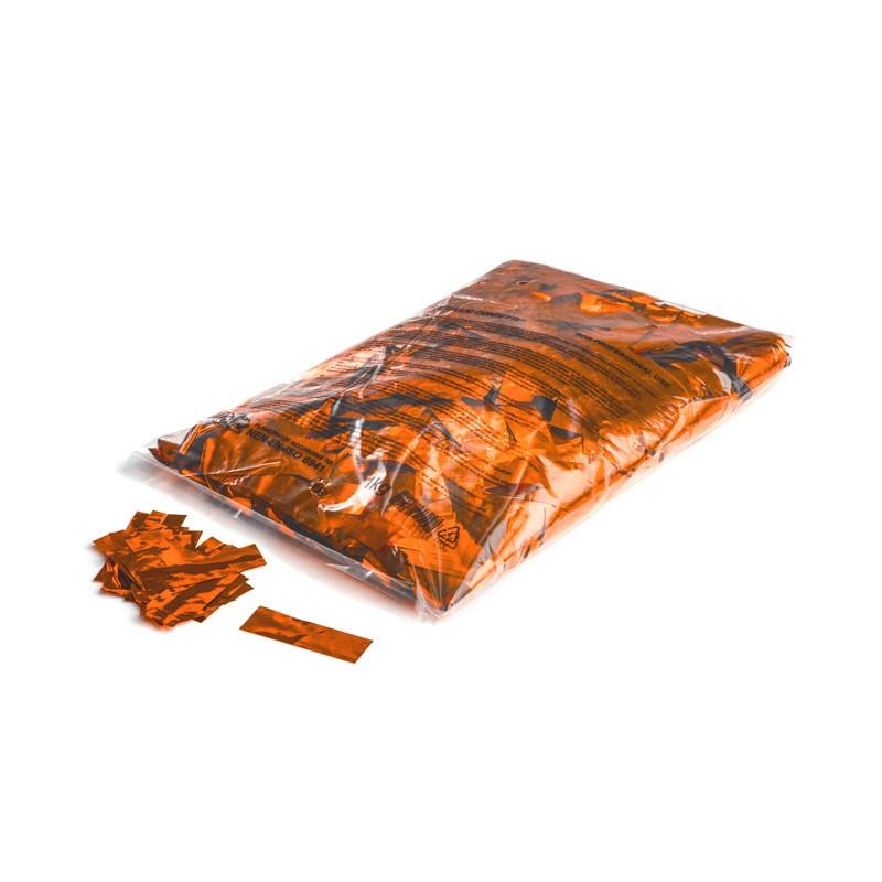 Konfetti Rectangles 55x17mm Orange-Flitter