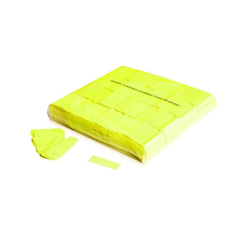 Konfetti Rectangles 55x17mm UV Gelb