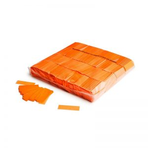 Konfetti Rectangles 55x17mm UV Orange