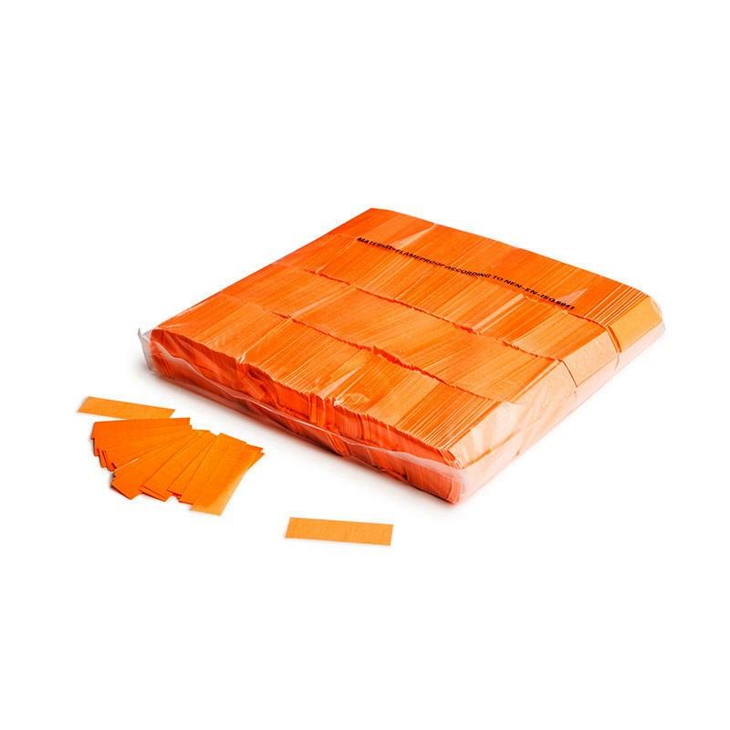 Konfetti Rectangles 55x17mm UV Orange