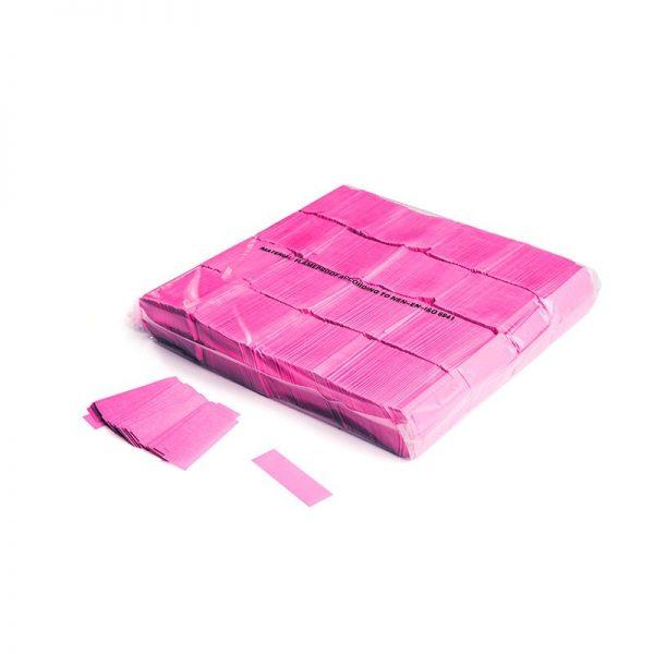 Konfetti Rectangles 55x17mm UV Pink