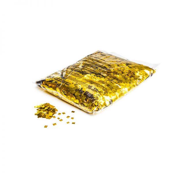 Konfetti Rectangles 6x6mm Pixie Dust Gold