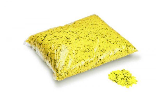 Konfetti Rectangles 6x6mm Powderfetti Gelb