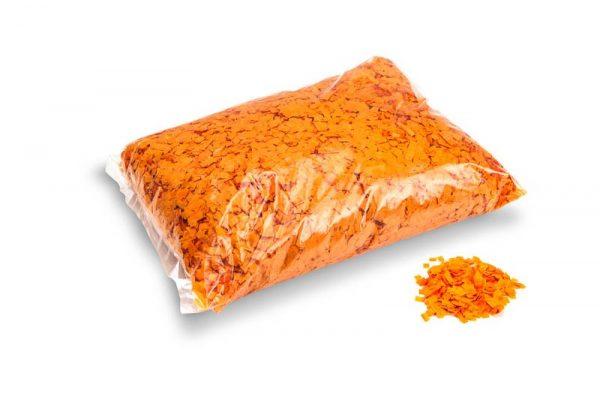 Konfetti Rectangles 6x6mm Powderfetti Orange