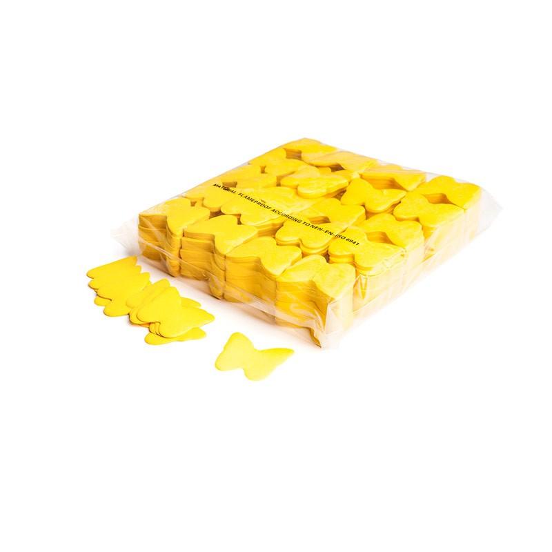Konfetti Schmetterlinge Gelb