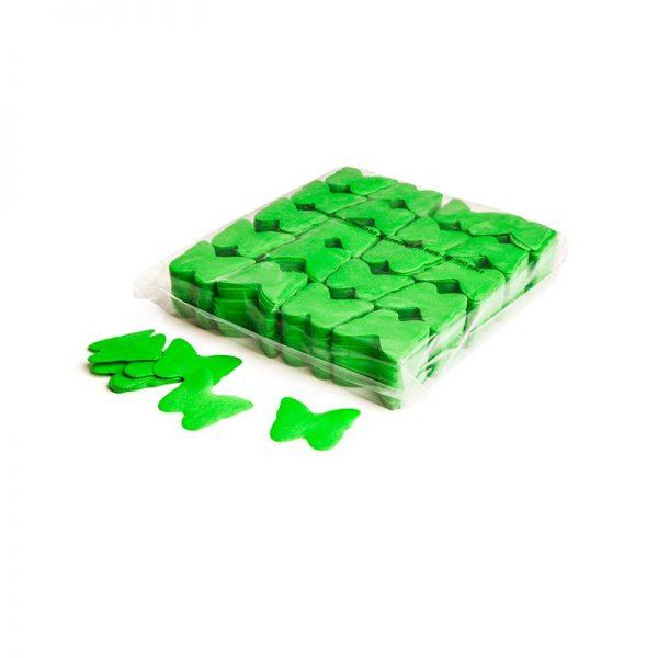 Konfetti Schmetterlinge Hellgrün