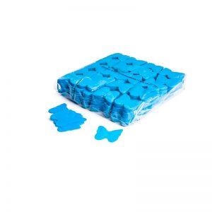 Konfetti Schmetterlinge Hellblau