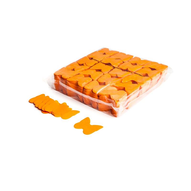 Konfetti Schmetterlinge Orange