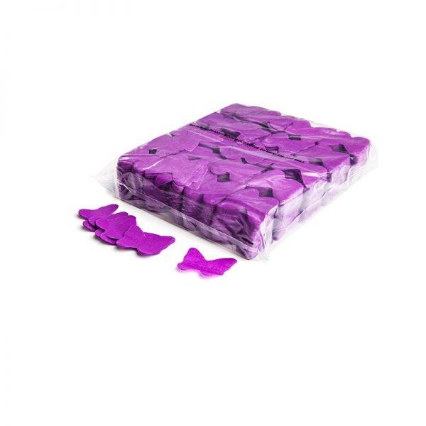 Konfetti Schmetterlinge Violett