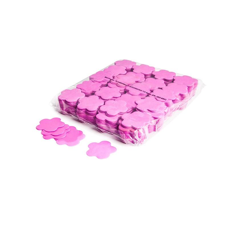 Konfetti Shapes Blumen Pink