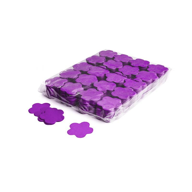 Konfetti Shapes Blumen Violett