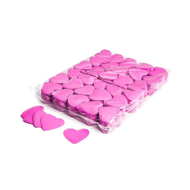 Konfetti Shapes Herzen Pink