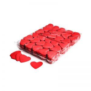Konfetti Shapes Herzen Rot