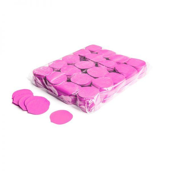 Konfetti Shapes Rosenblüten Pink