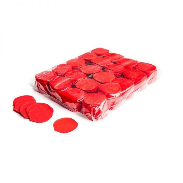 Konfetti Shapes Rosenblüten Rot