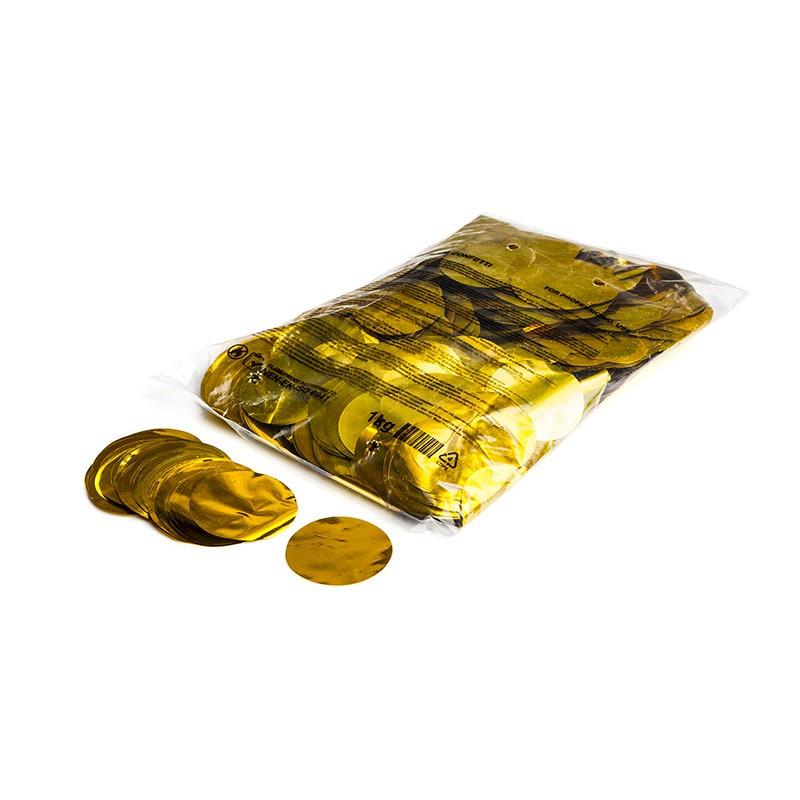 Konfetti Shapes Rounds Gold-Metallic