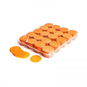 Konfetti Shapes Rounds Orange