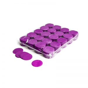 Konfetti Shapes Rounds Violett