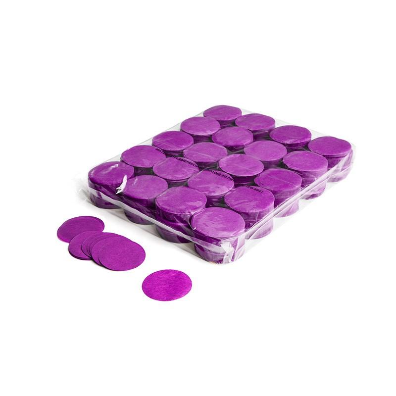 Konfetti Shapes Rounds Violett