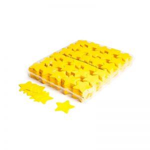 Konfetti Shapes Sterne Gelb