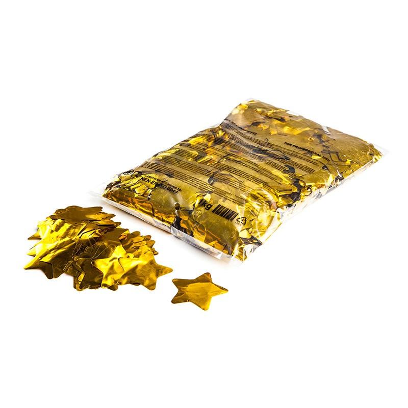 Konfetti Shapes Sterne Gold-Metallic