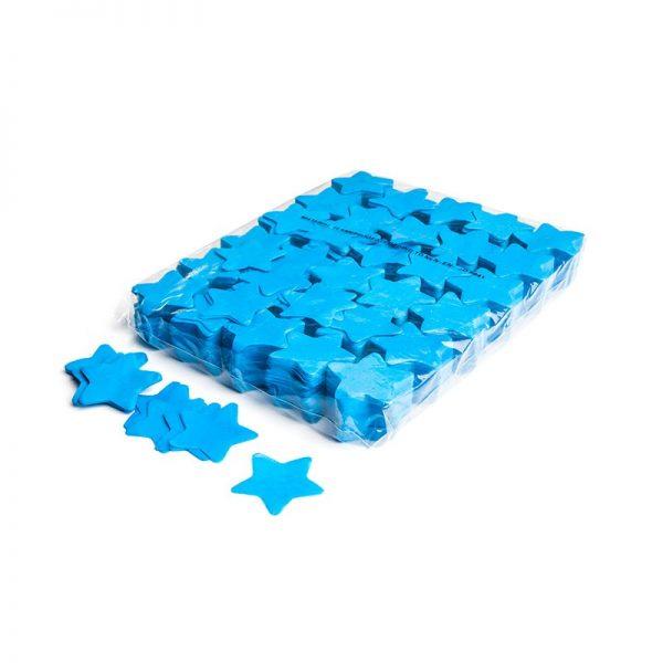 Konfetti Shapes Sterne Hellblau