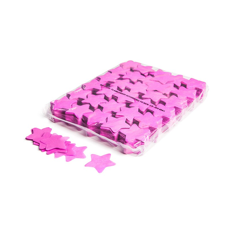 Konfetti Shapes Sterne Pink