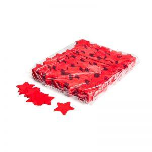 Konfetti Shapes Sterne Rot