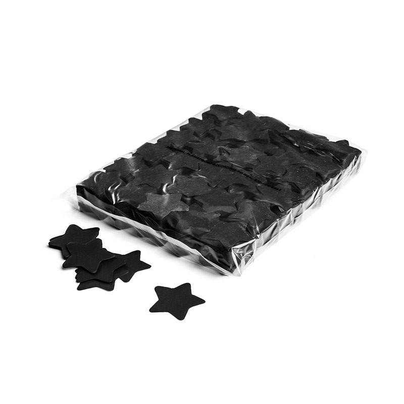 Konfetti Shapes Sterne Schwarz