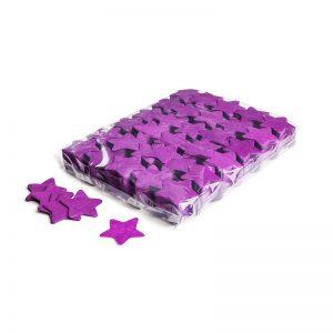 Konfetti Shapes Sterne Violett