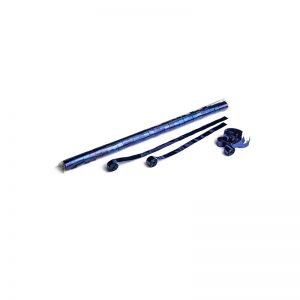 Luftschlangen 10mx1,5cm Blau-Metallic