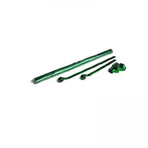 Luftschlangen 10mx1,5cm Dunkelgrün-Metallic