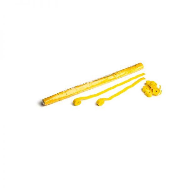 Luftschlangen 10mx1,5cm Gelb