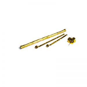 Luftschlangen 10mx1,5cm Gold-Metallic