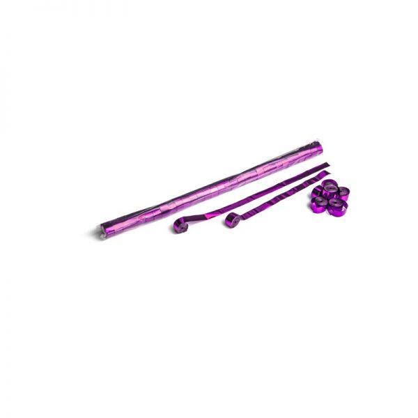 Luftschlangen 10mx1,5cm Pink-Metallic