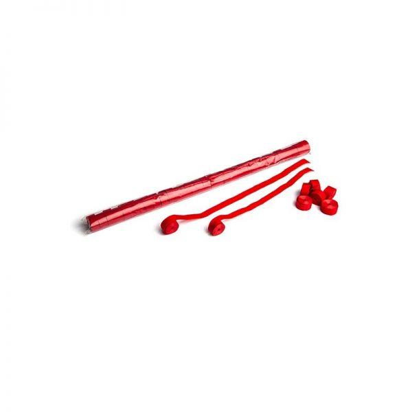 Luftschlangen 10mx1,5cm Rot