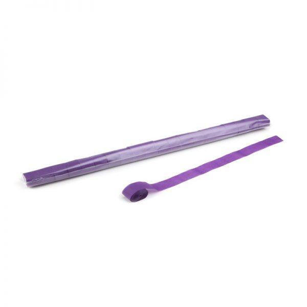 Luftschlangen 10mx2,5cm Violett